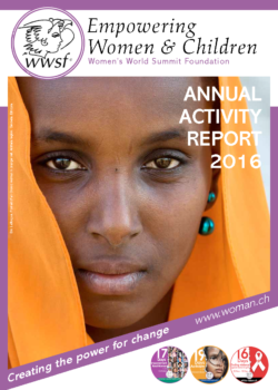2016 Annual Activity report Cover