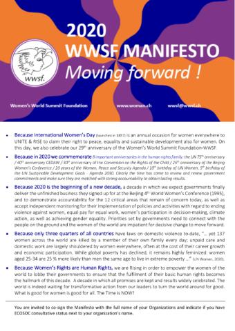 Manifesto WWSF