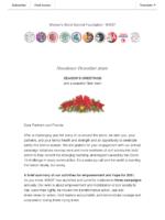 Newsletter December 2020