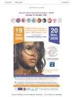 Newsletter November 2020