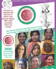 Brochure du Prix pour la Créativité des Femmes en Milieu Rural 2020